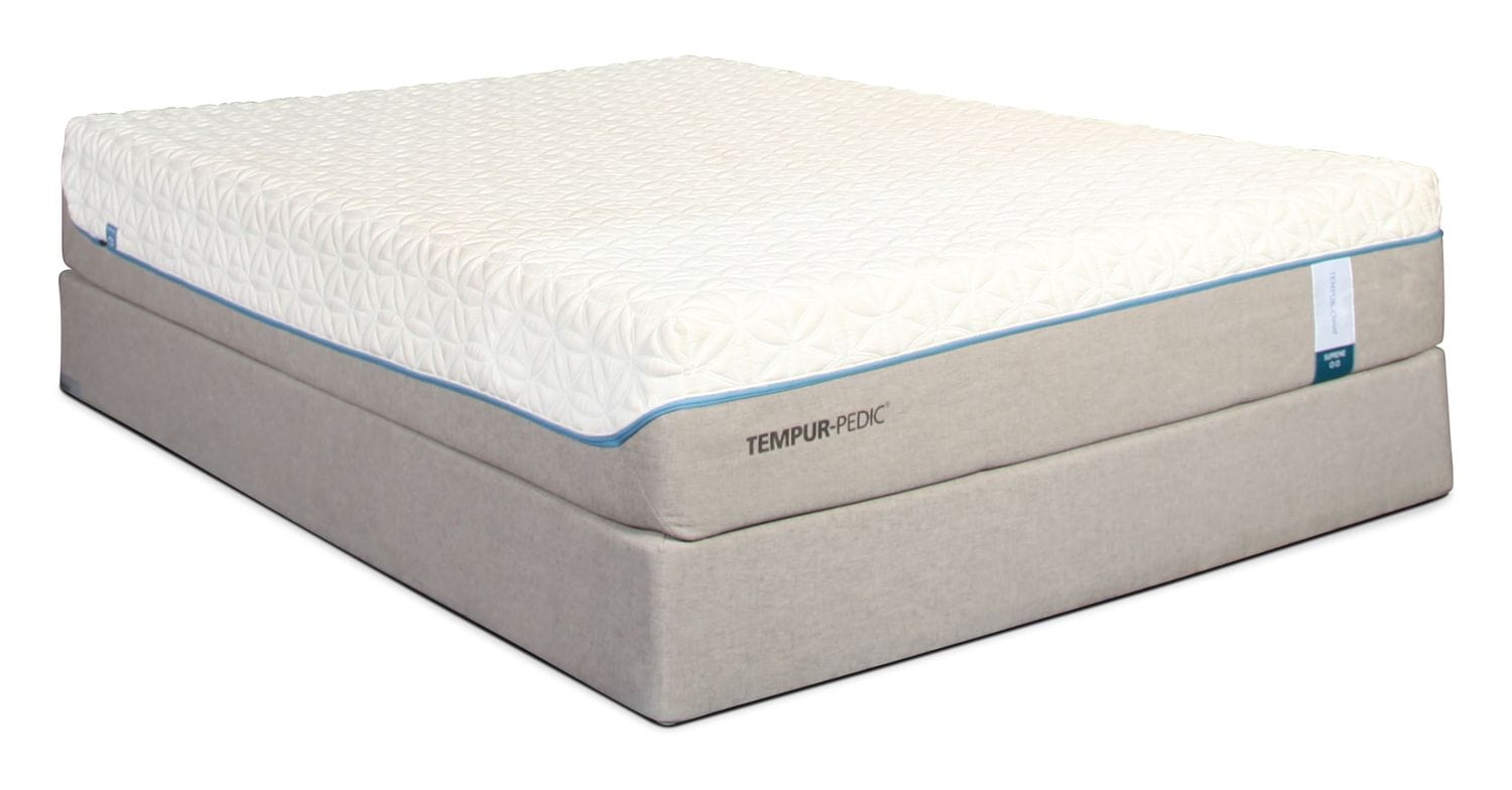 Mattresses and Bedding - Tempur-Pedic Cloud Supreme Full Mattress and Boxspring
