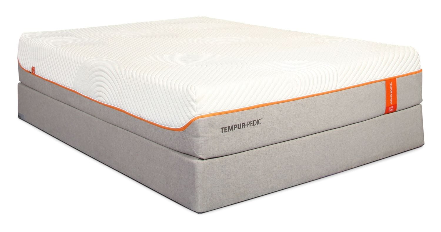 Mattresses and Bedding - Tempur Contour Queen Elite Mattress and Boxspring