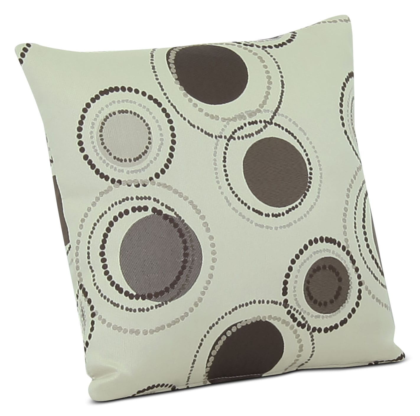 Designed2B Fabric Accent Throw Pillow – Stone