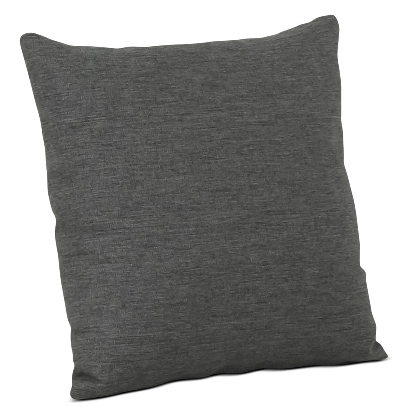 Designed2B Linen-Look Fabric Accent Throw Pillow – Sophisticate Aluminum