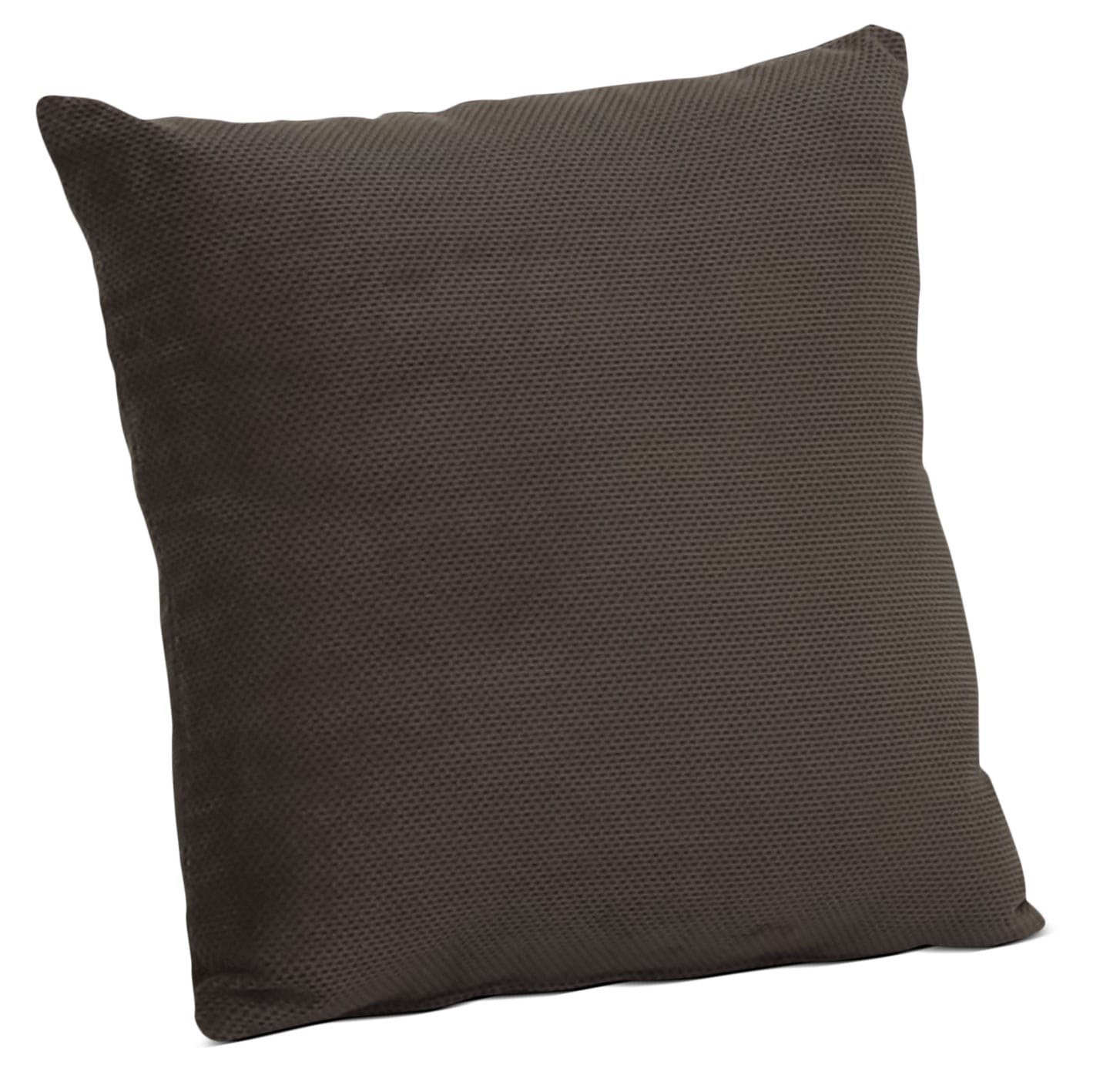 Designed2B Textured Chenille Accent Throw Pillow – Plush Chocolate