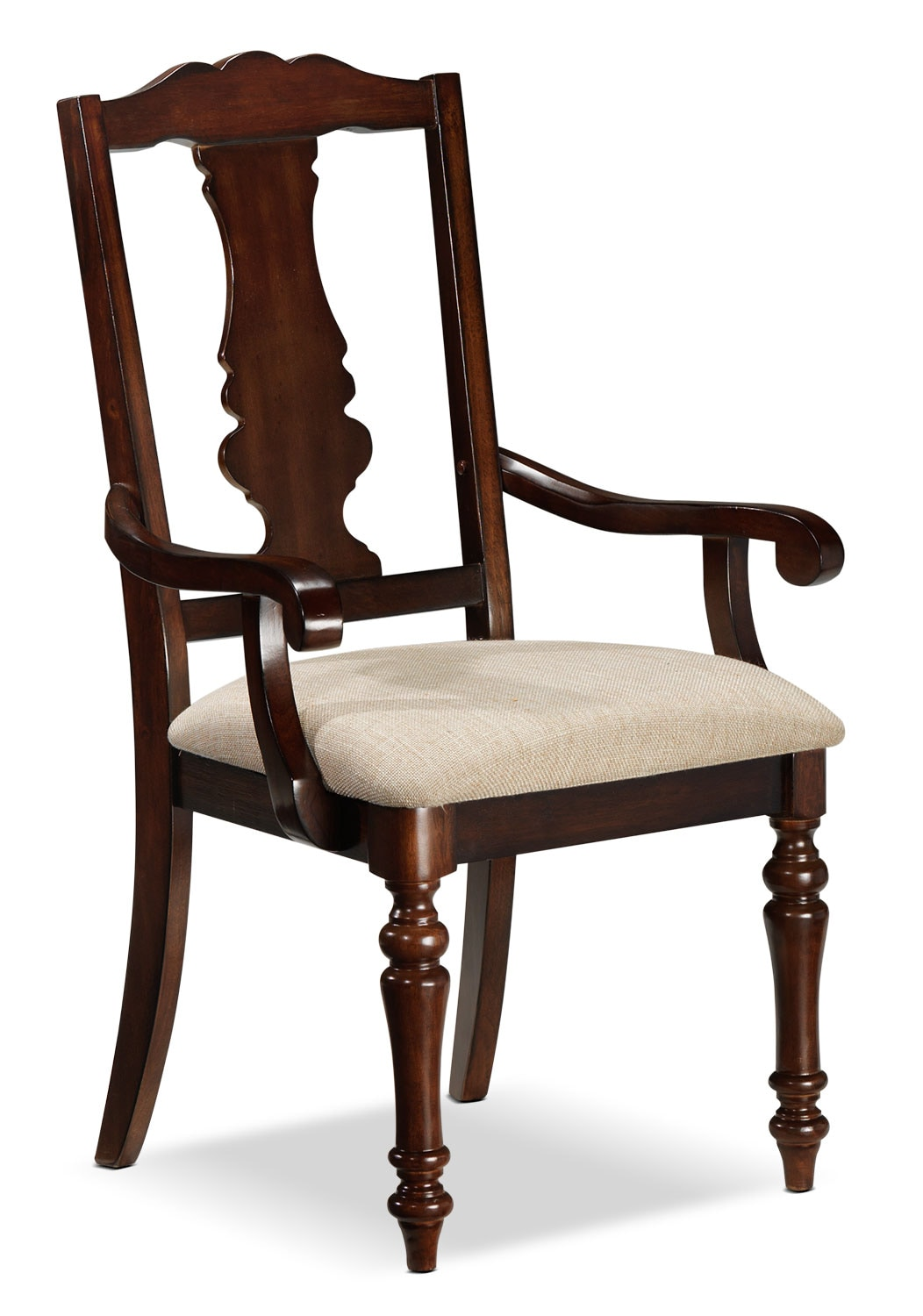 Dining Room Furniture - Alice Arm Chair - Cherry