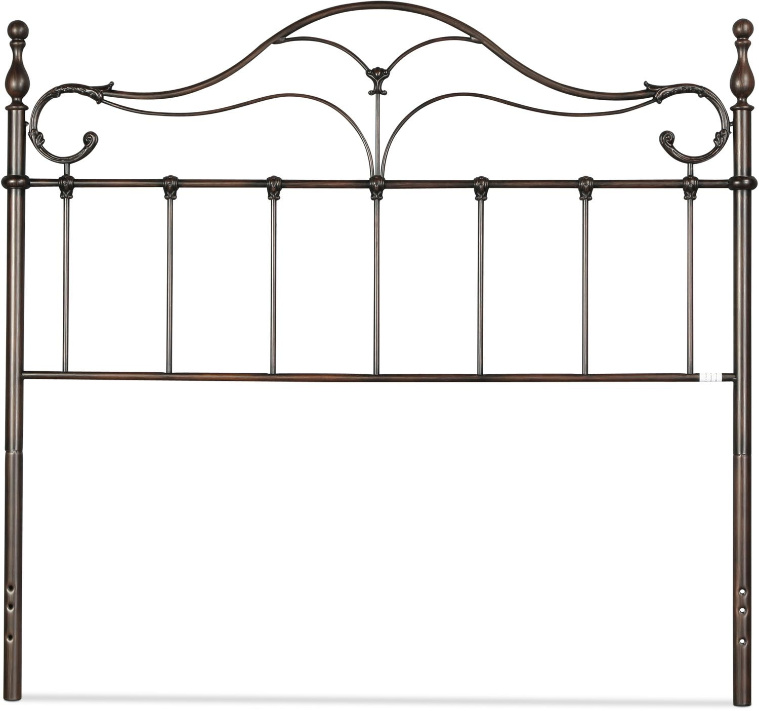 Bennett Full/Queen Headboard - Antique Bronze