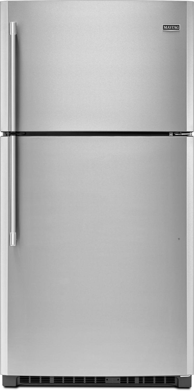 Refrigerators and Freezers - Maytag 21 Cu. Ft. Top-Freezer Refrigerator – MRT711SMFZ
