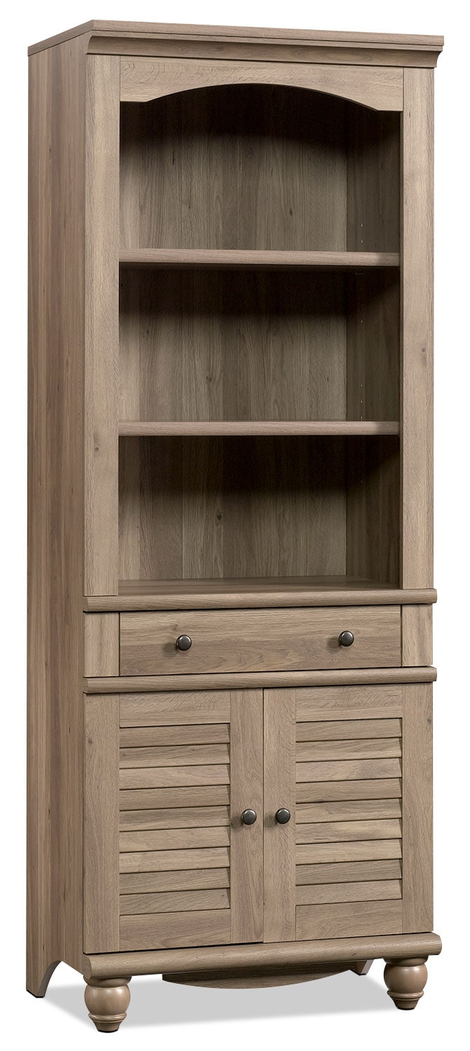 Harbour View Bookcase – Salt Oak