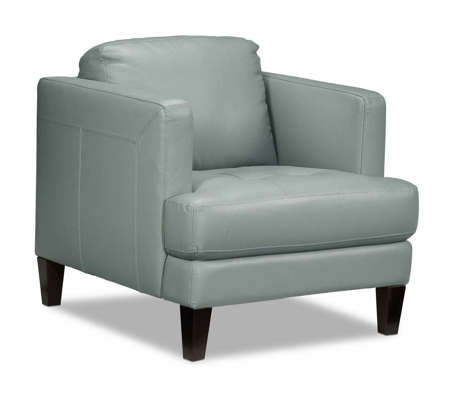 Living Room Furniture - Walker Chair - Seafoam