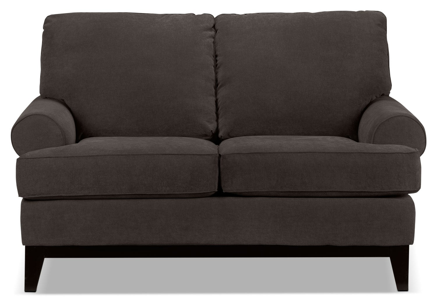 Living Room Furniture - Crizia Loveseat - Coffee