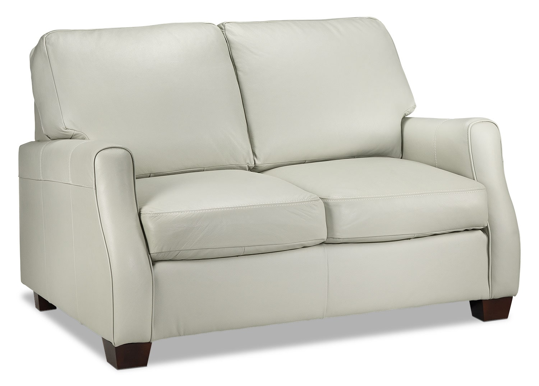 Living Room Furniture - Talbot Loveseat - Smoke