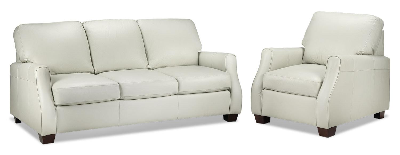 Talbot Sofa and Chair - Smoke