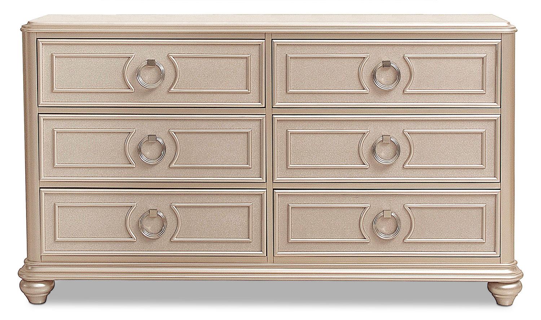 Dynasty Dresser - Gold
