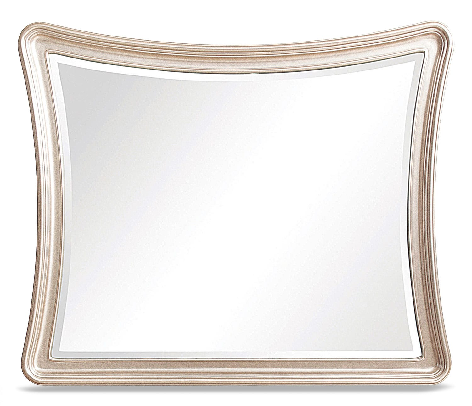 Bedroom Furniture - Dynasty Mirror - Gold