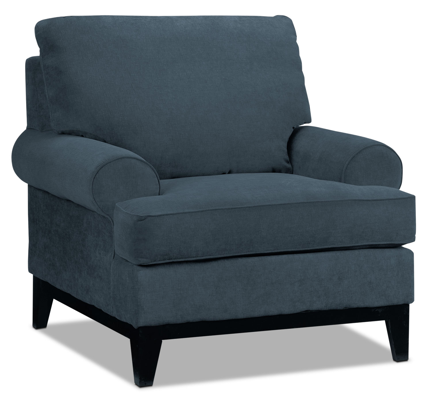 Living Room Furniture - Crizia Chair - Navy
