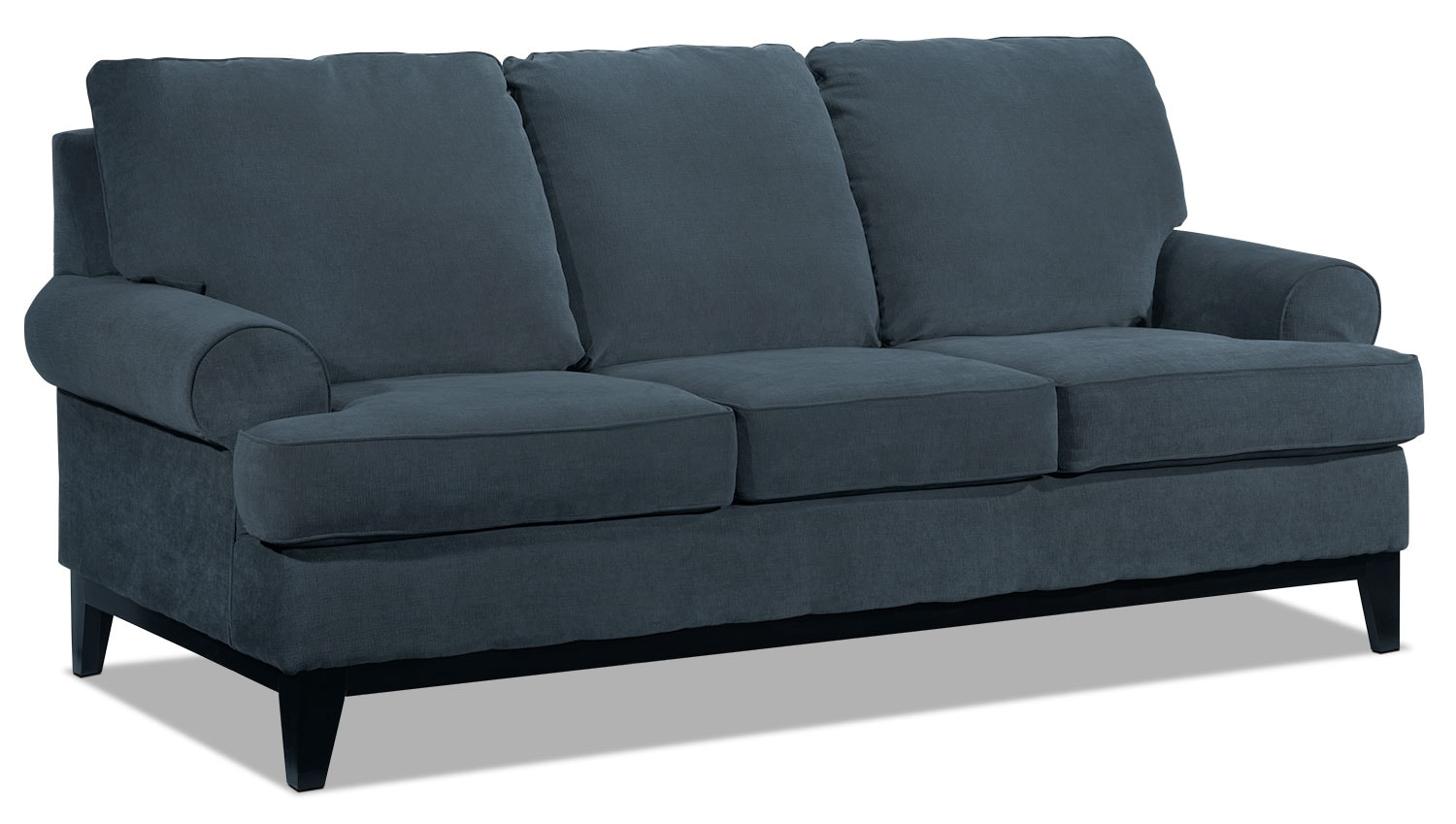 Living Room Furniture - Crizia Sofa - Navy