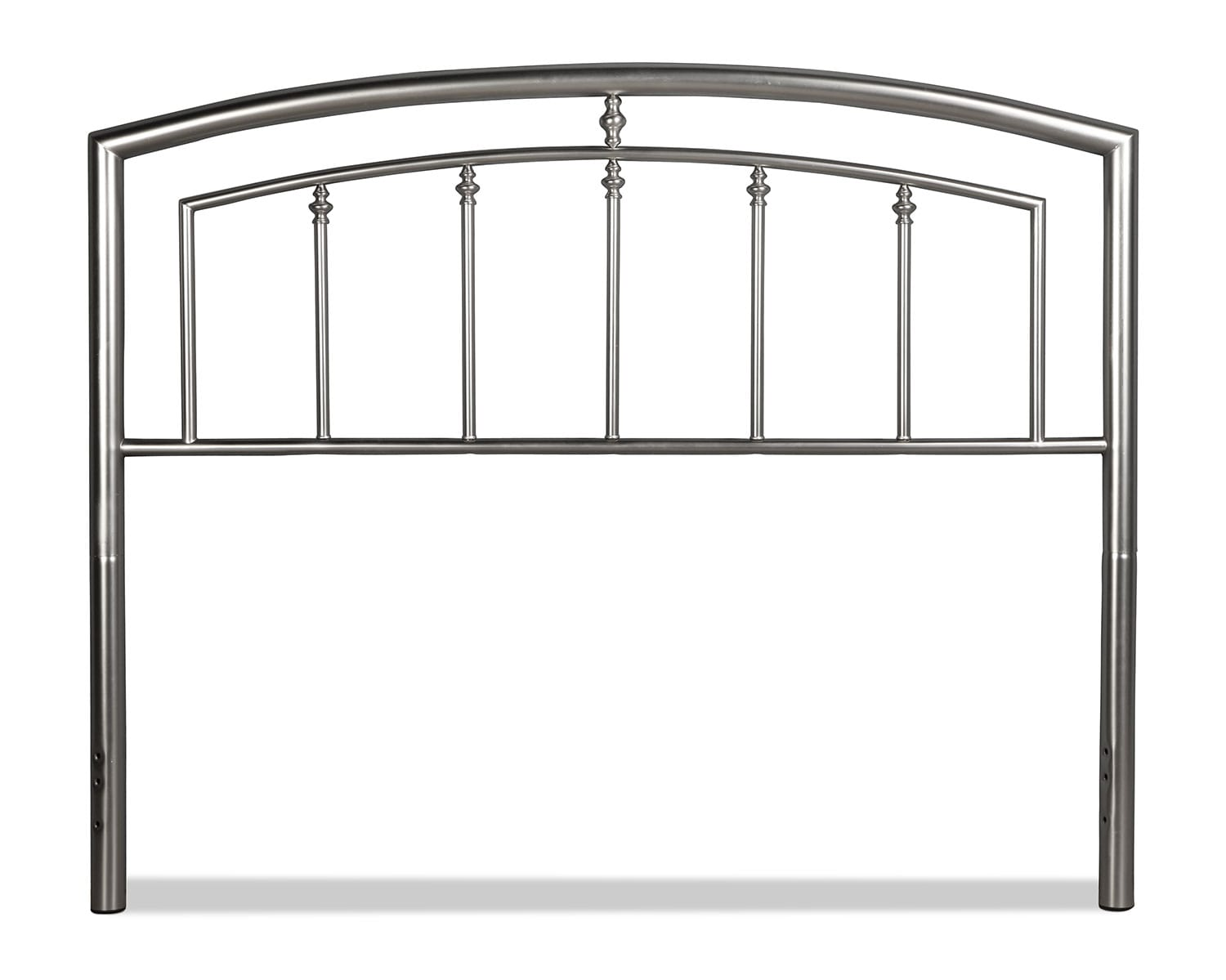 Claudia Full/Queen Headboard - Matte Nickel