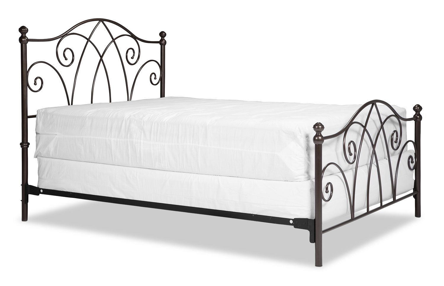 Deland Full Bed - Brown