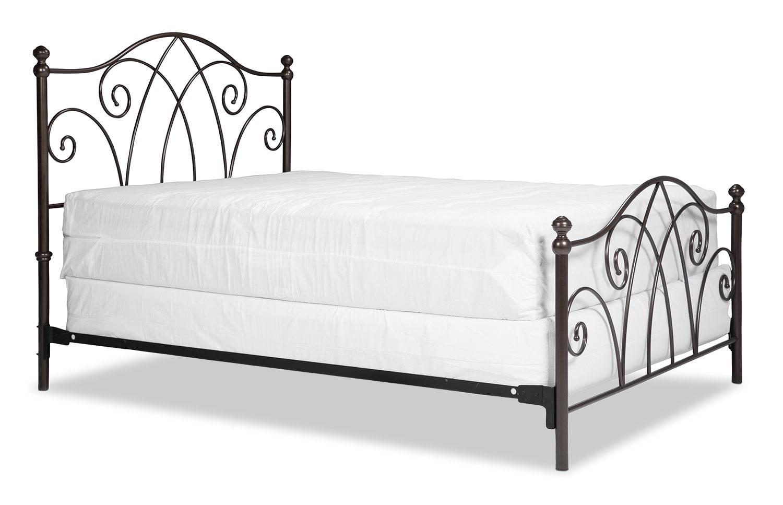 Bedroom Furniture - Deland Queen Bed - Brown