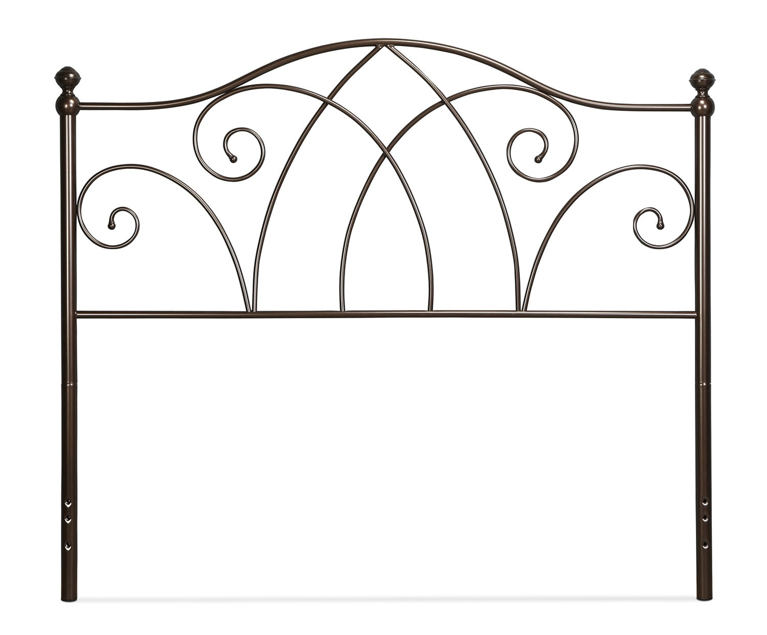 Deland Queen Headboard - Brown