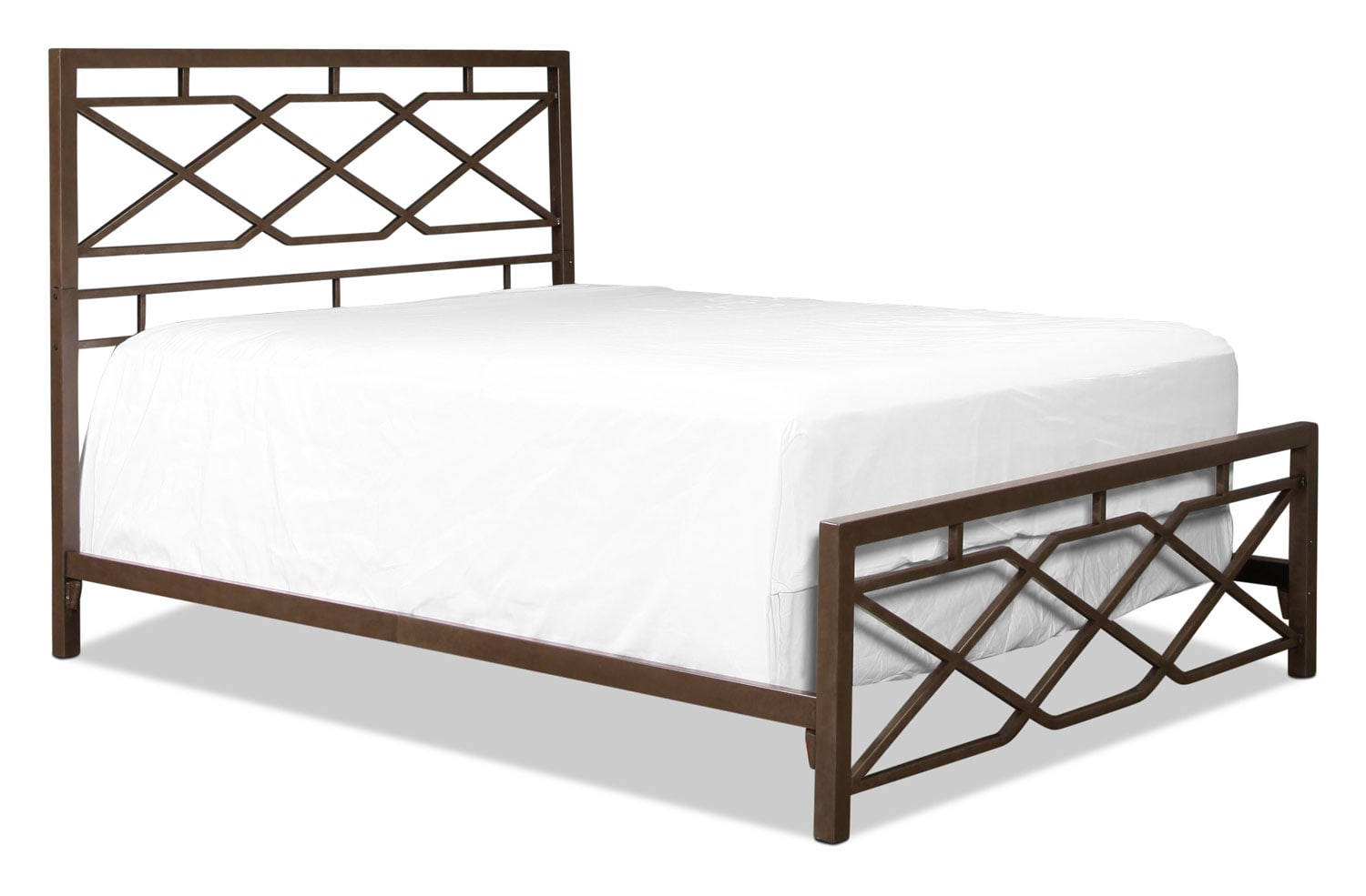 Alpine Full Bed - Pewter