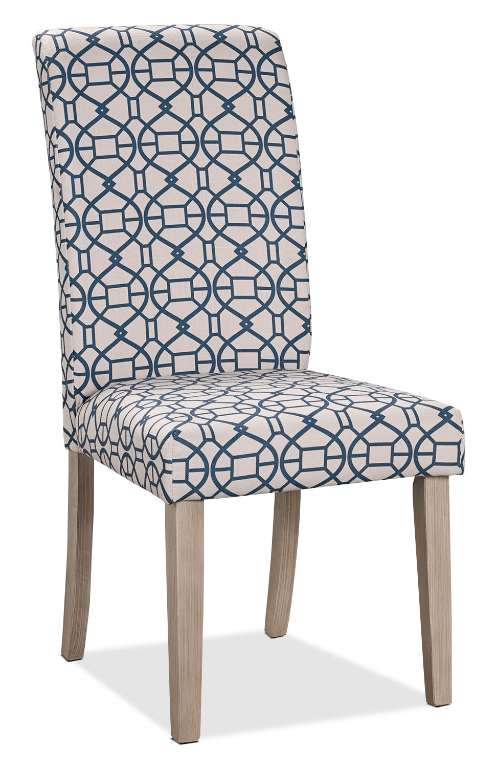 Dining Room Furniture - Kalen Dining Chair – Blue