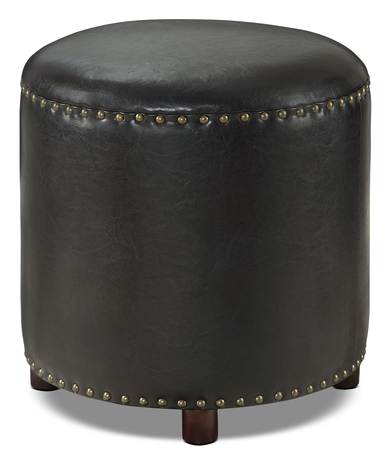 Accent and Occasional Furniture - Chilton Ottoman – Black