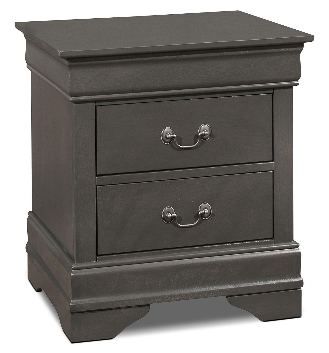 Bedroom Furniture - Lyla Nightstand – Grey