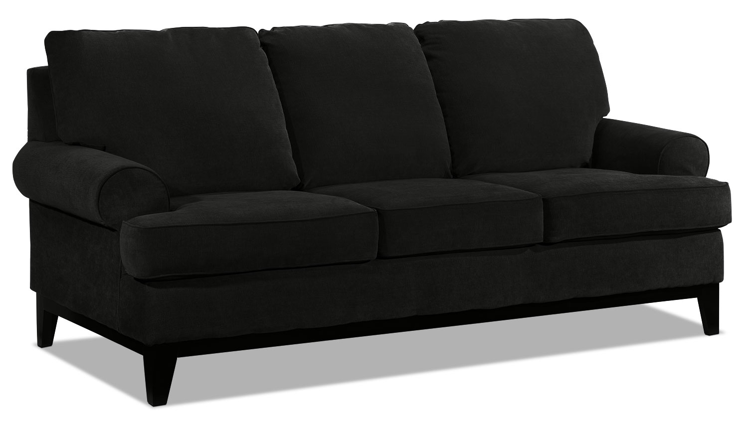 crizia sofa black