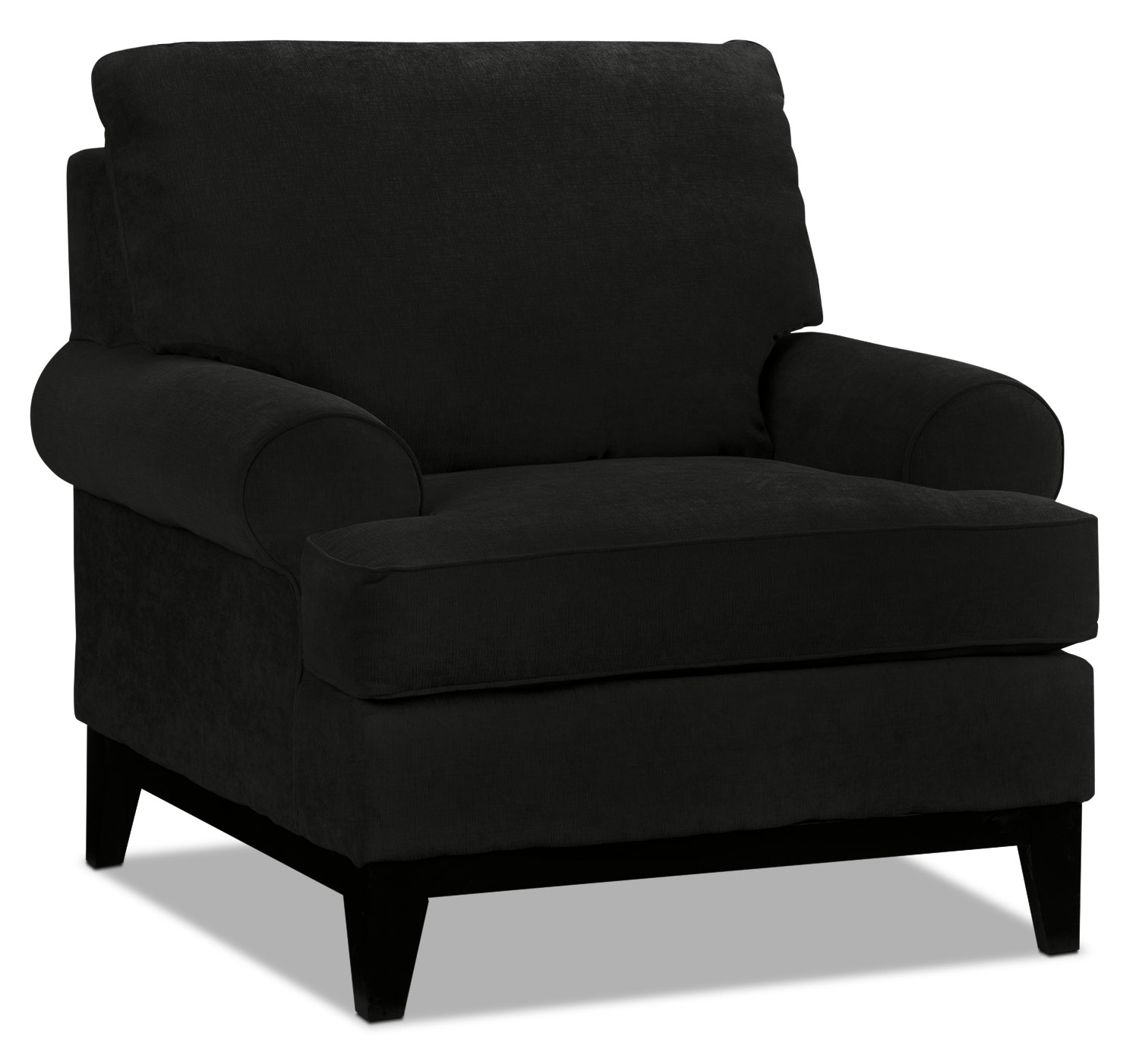 Living Room Furniture - Crizia Chair - Black