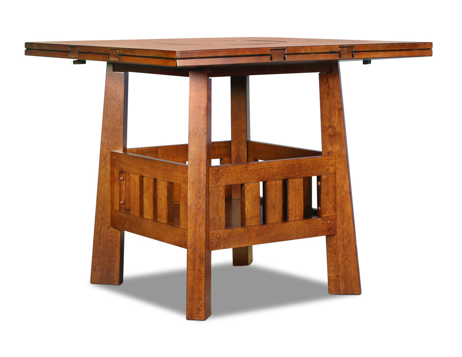 Dining Room Furniture - Graham Counter-Height Table - Burnished Oak