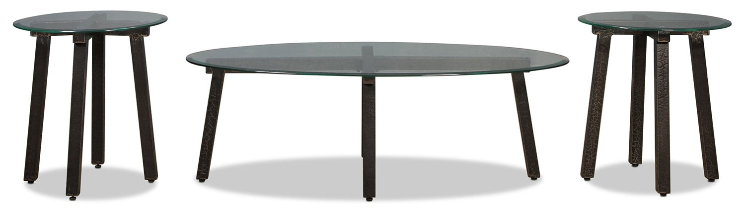 Isa Coffee Table and 2 End Tables