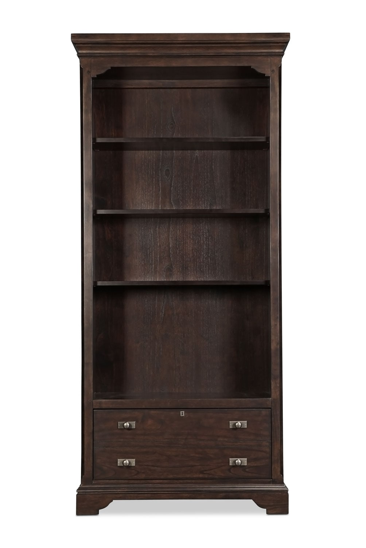 Home Office Furniture - Walnut Creek Bookcase - Espresso