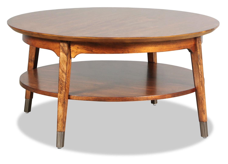 Buchanan Coffee Table - Warm Walnut