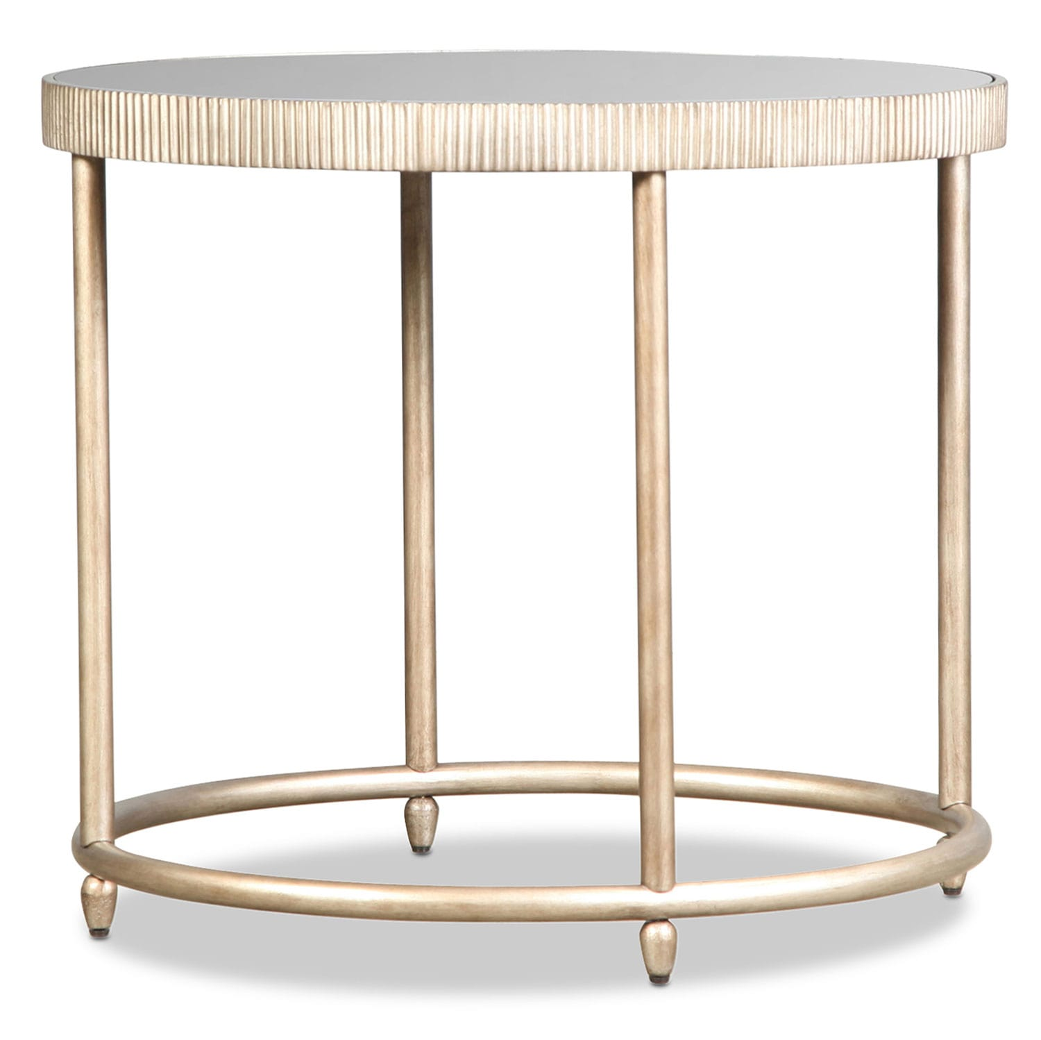 Bronte End Table - Silver