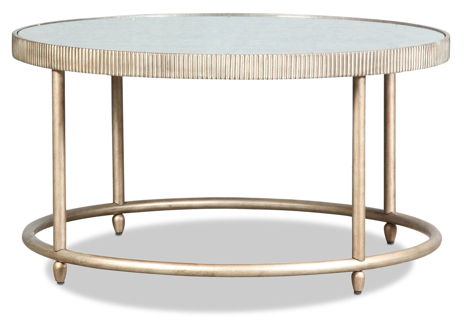Bronte Coffee Table - Silver