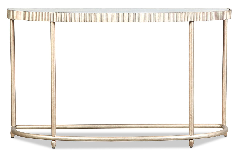 Bronte Sofa Table - Silver