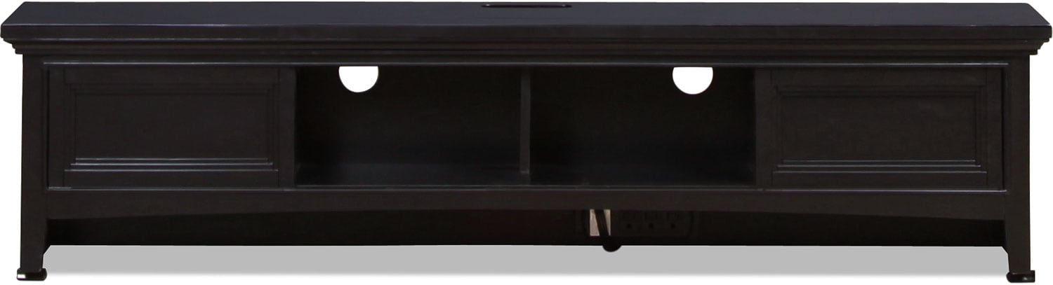 Bennett Desk Hutch  - Black