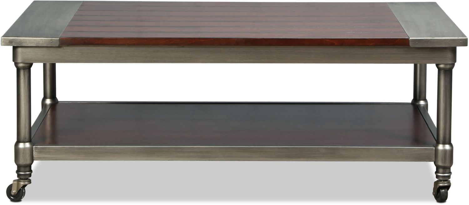 Accent and Occasional Furniture - Constance Coffee Table - Burnished Cherry