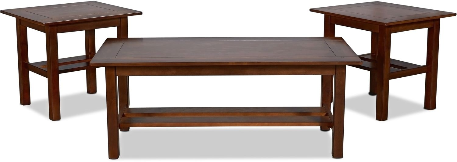 Adalee Coffee Table and 2 End Tables