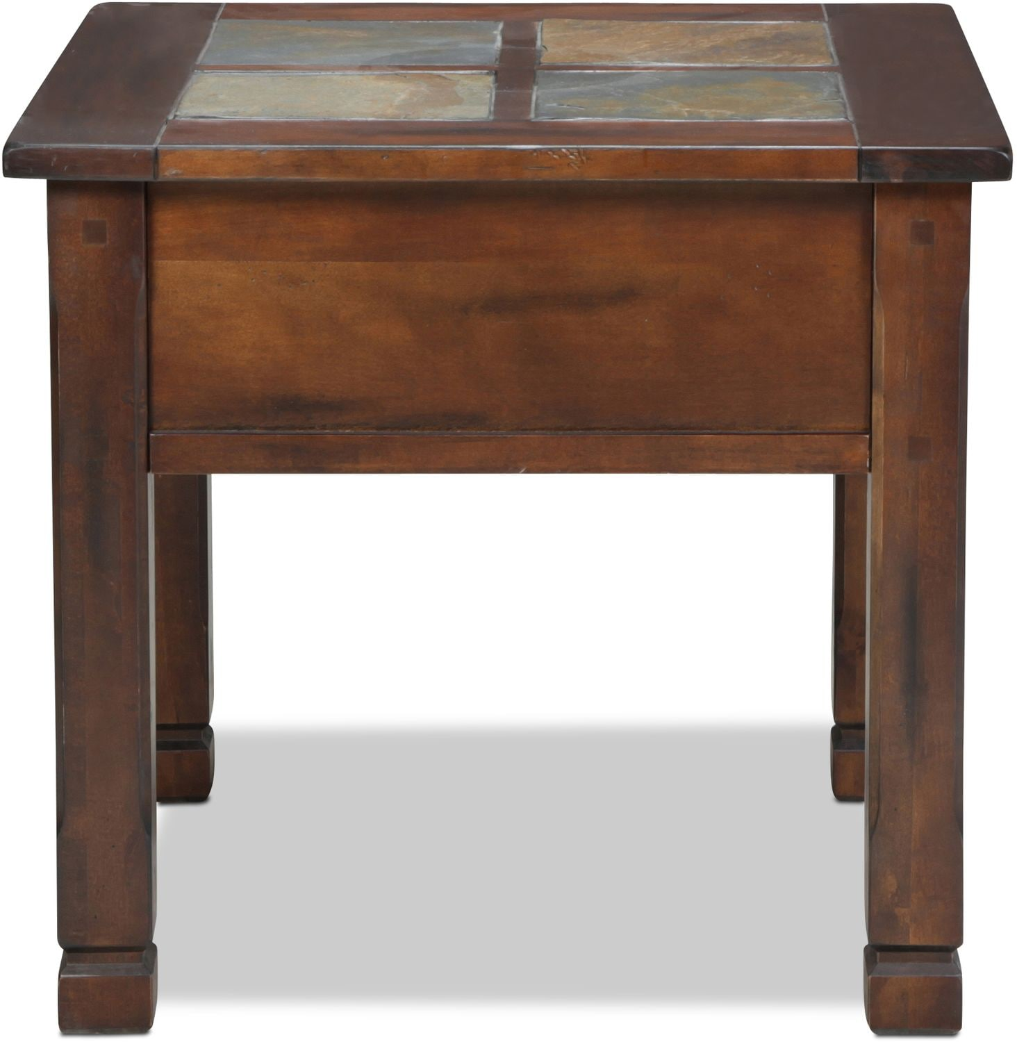 Aztec End Table Chocolate Levin Furniture