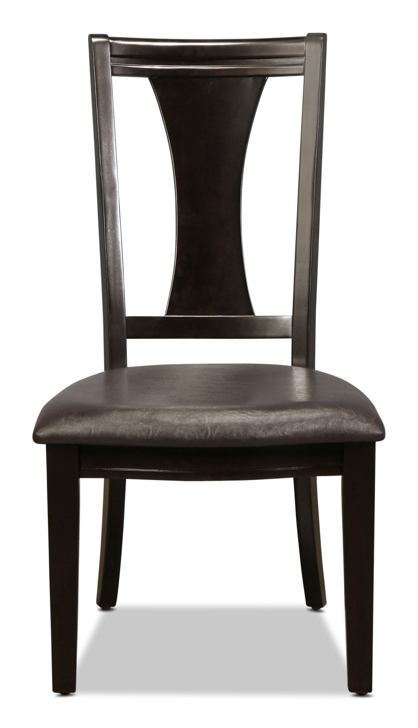 Dining Room Furniture - Grayson Side Chair - Merlot