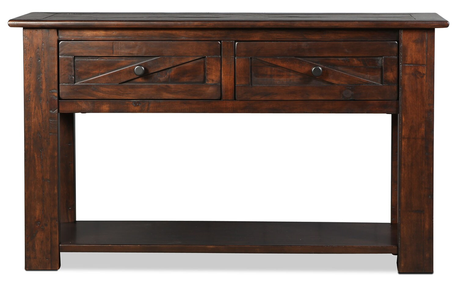 Fraser Sofa Table - Rustic Pine