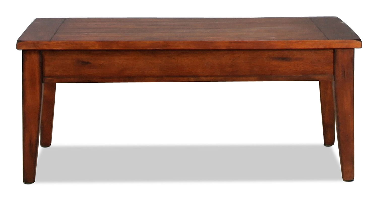Accent and Occasional Furniture - Edelman Lift-Top Coffee Table - Oak