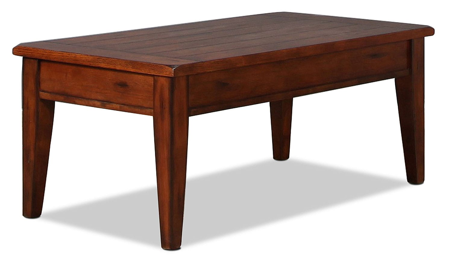 Edelman Lift Top Coffee Table Oak Levin Furniture