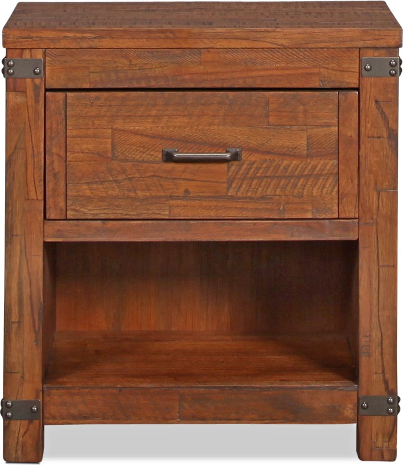 Lil Everett Nightstand Weathered Natural