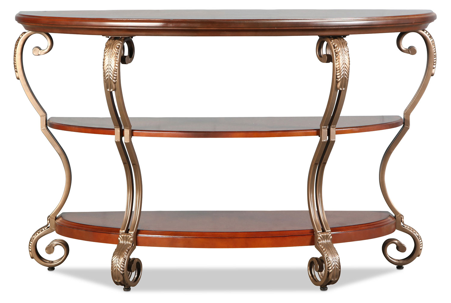 Hastings Sofa Table - Burnished Brown