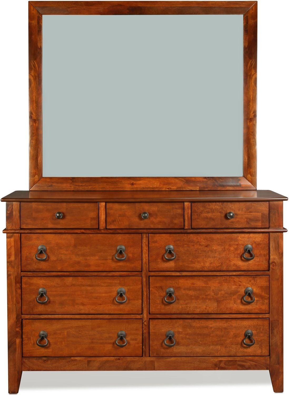 Sutton Dresser - Light Brown