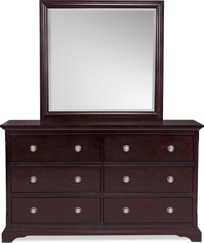 Georgetown Dresser - Dark Merlot