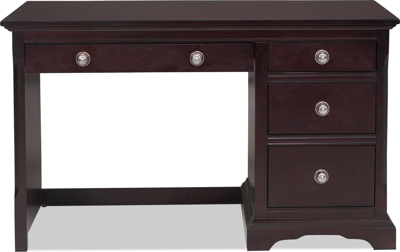 Home Office Furniture - Georgetown Desk - Dark Merlot