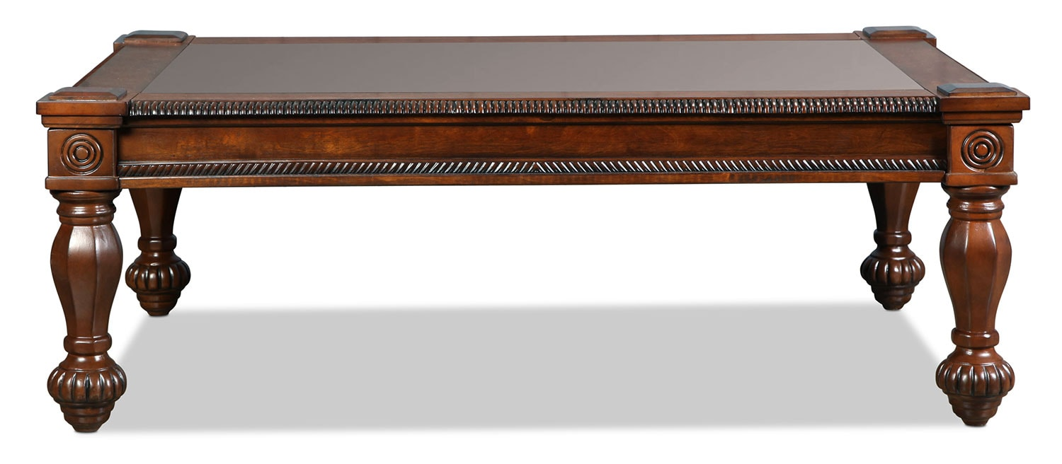 Fairview Coffee Table - Rich Brown