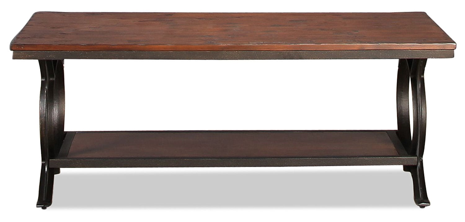 Kolton Coffee Table - Dark Pine
