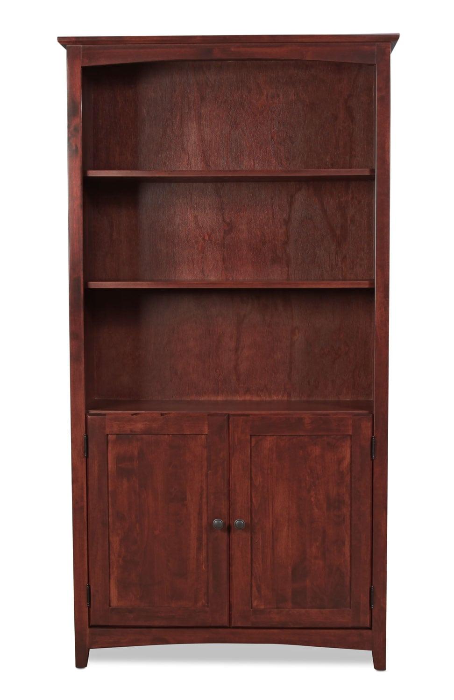 """Regent 72"""" Bookcase with Doors"""